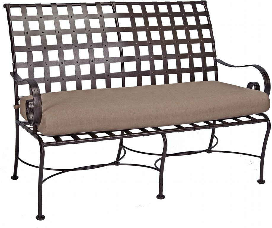 Ow Lee Outdoor Patio Bench 947 Bw Zing Casual Living