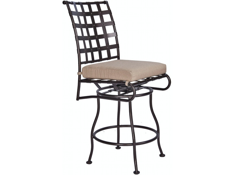 Ow Lee Outdoor Patio Swivel Counter Stool With No Arms 951