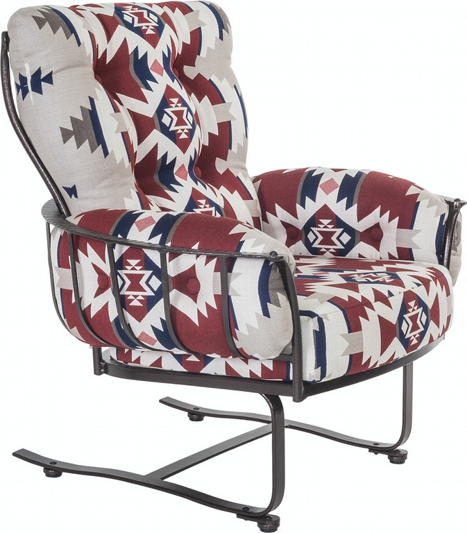 Ow Lee Pd424 Msb Outdoorpatio Mini Spring Base Lounge Arm Chair