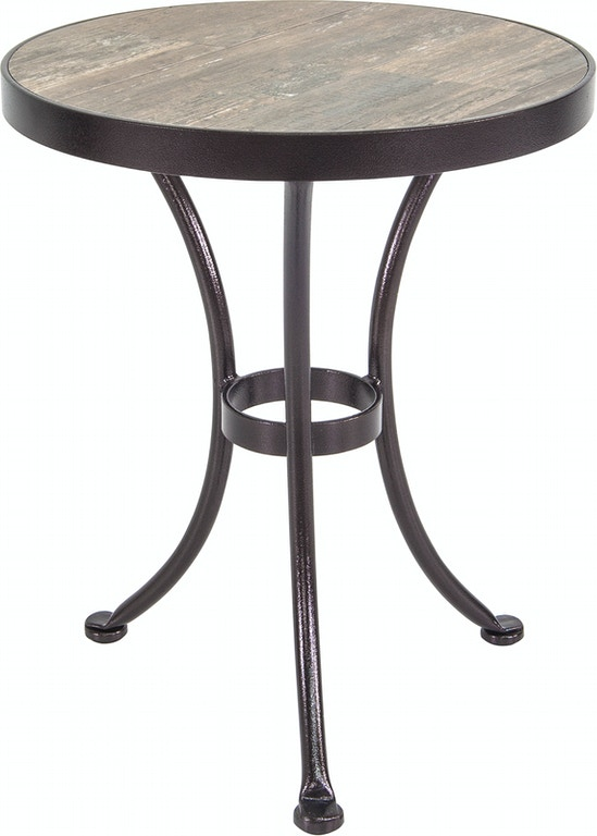 Peachy Ow Lee Outdoor Patio 18 Round Side Table Pd51 Lt18Rdmo Download Free Architecture Designs Viewormadebymaigaardcom