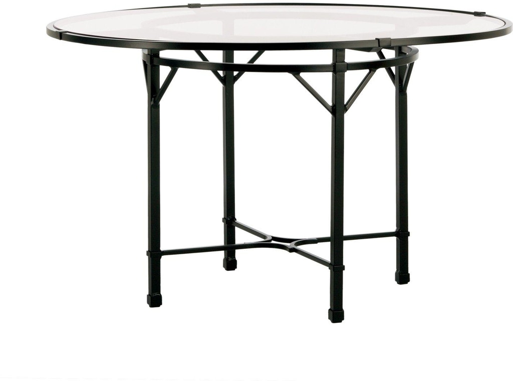 Brown Jordan - Venetian 48 Inch Round Pedestal Dining Table ...