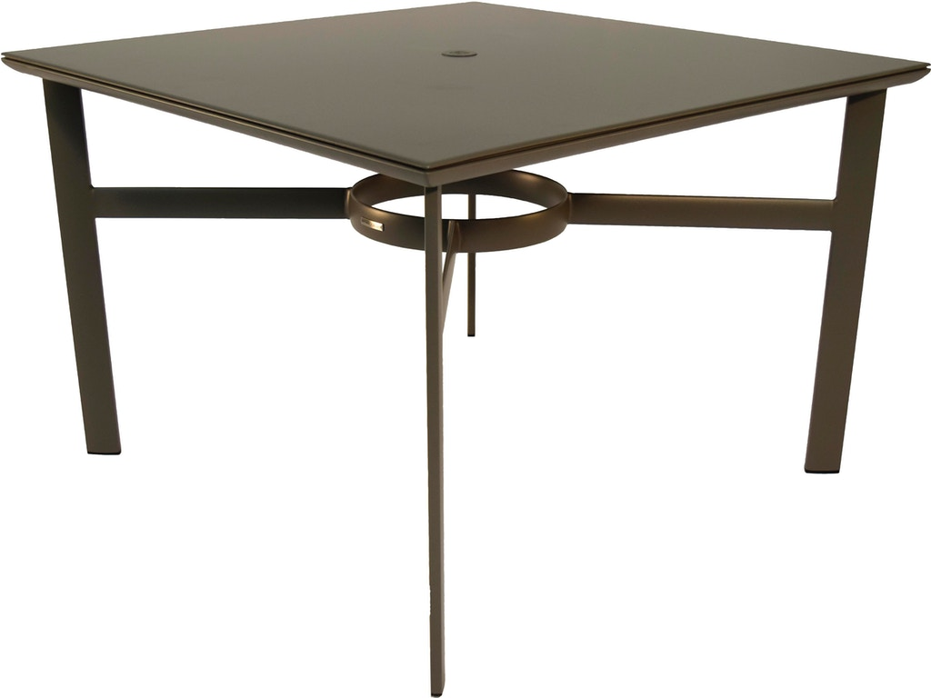 Brown Jordan 42 Square Dining Table The Fire House Casual Living Store