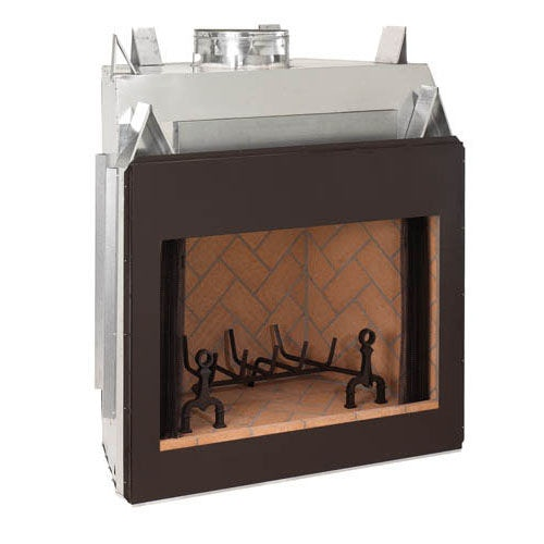 Captivating Fire House Casual Wood Burning Fireplace 600 Signature Series. Zoom