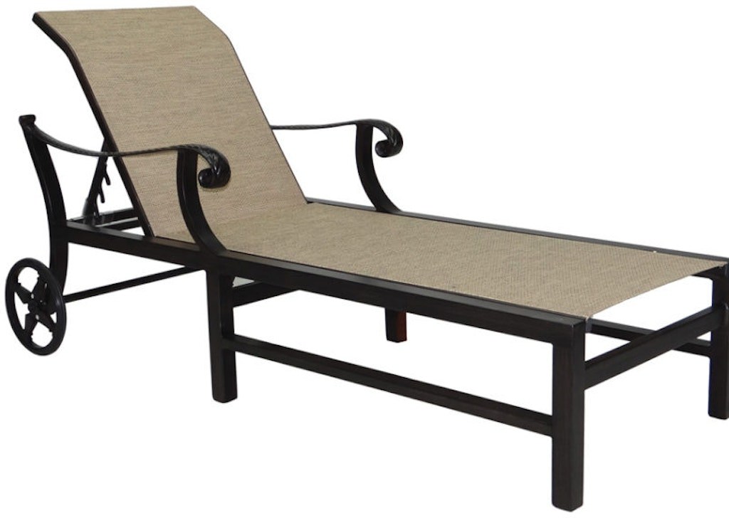 FH Casual Quickship - Bellagio Sling Chaise Lounge | The ... on Living Accents Sling Folding Chaise id=27601
