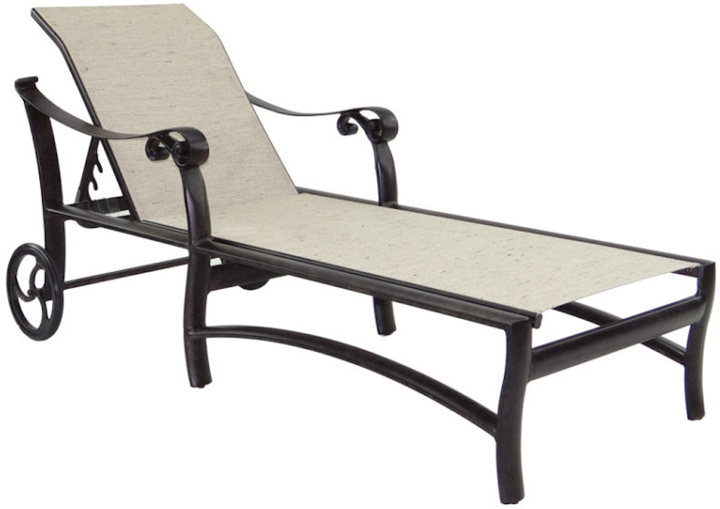 FH Casual Custom - Bellanova Sling Chaise Lounge | The ... on Living Accents Sling Folding Chaise id=80138