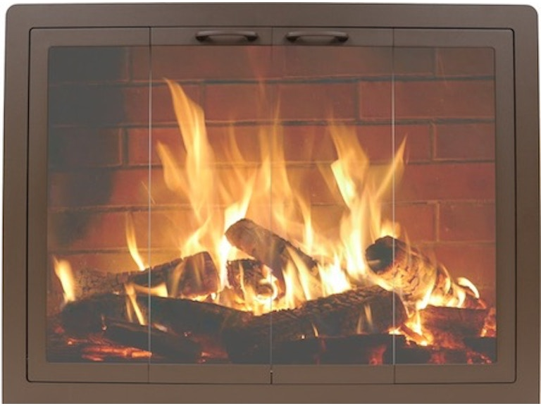 FH Casual - Contour Masonry Fireplace Doors | The Fire ... on Fireplace Casual Living id=57423