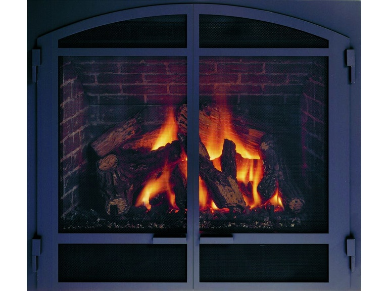 Mendota Fireplace Glass Door The Fire House Casual Living Store