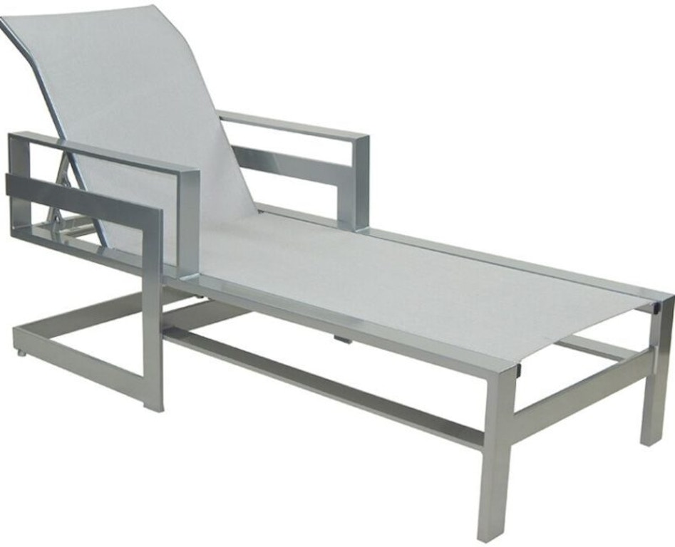 FH Casual Custom - Eclipse Sling Chaise Lounge | The Fire ... on Living Accents Sling Folding Chaise id=16527