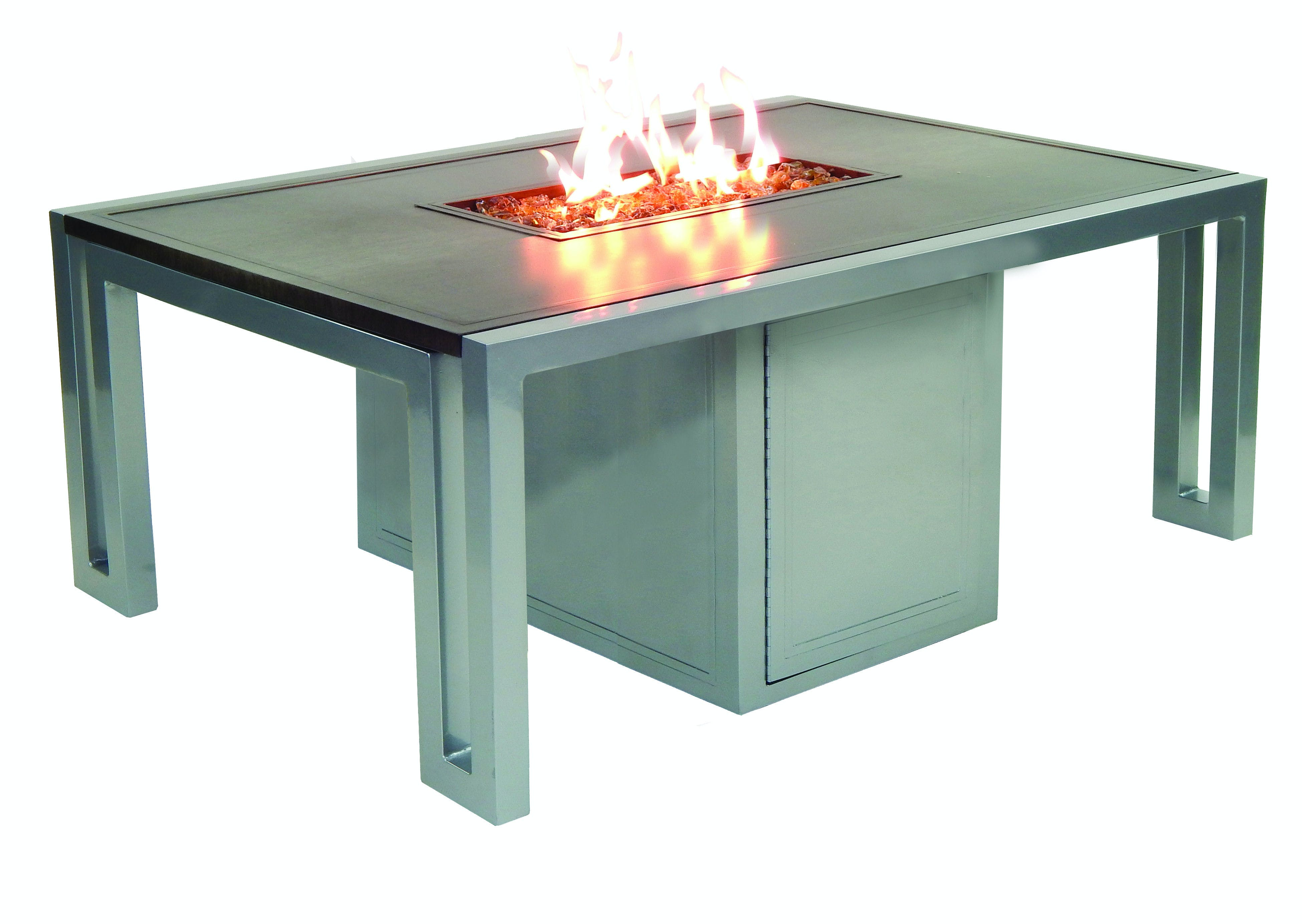 Picture of: Fh Casual Icon Rectangular Firepit Coffee Table The Fire House Casual Living Store