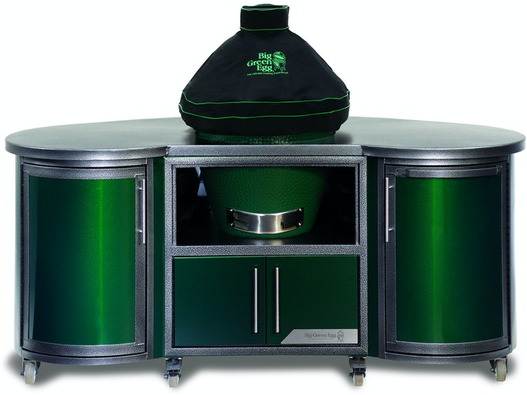 Ventilated Dome Cover W Piping Big Green Egg Grill Covers