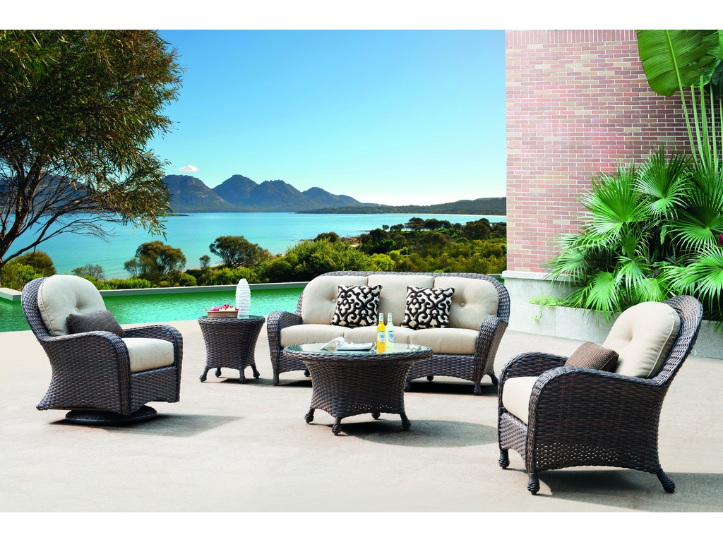 Fire House Casual Outdoor Patio Havana Deep Seating Swivel Glider R114 Gt5228 Sgc The Fire