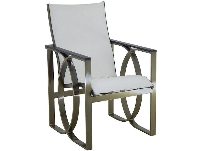 Pleasant Fh Casual Custom Hermosa Sling Dining Chair The Fire Camellatalisay Diy Chair Ideas Camellatalisaycom