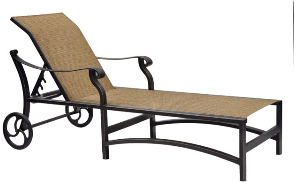 FH Casual Custom - Madrid Sling Chaise Lounge | The Fire ... on Living Accents Sling Folding Chaise id=86641