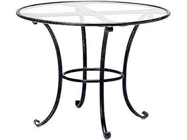 Brown Jordan - Roma 30 Inch Round Dining Table | The Fire ...