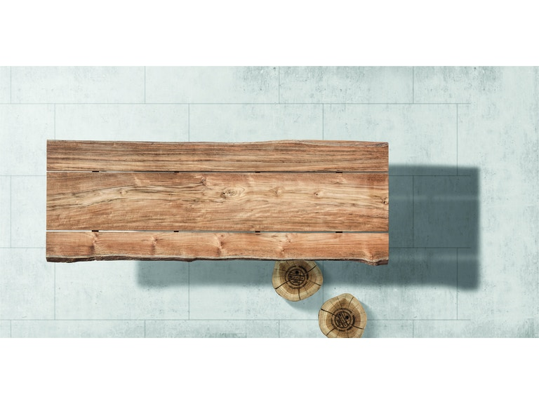 Gloster Split Raw Dining Table The Fire House Casual