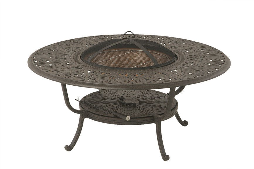 Picture of: Fh Casual 48 Round Wood Fire Pit Table The Fire House Casual Living Store