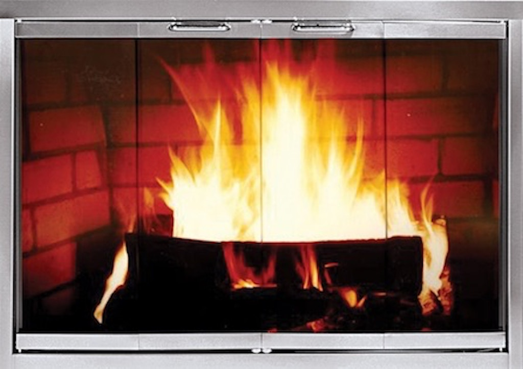 FH Casual - Z-Classic Pre-Fabricated Fireplace Doors | The ... on Fireplace Casual Living id=90126