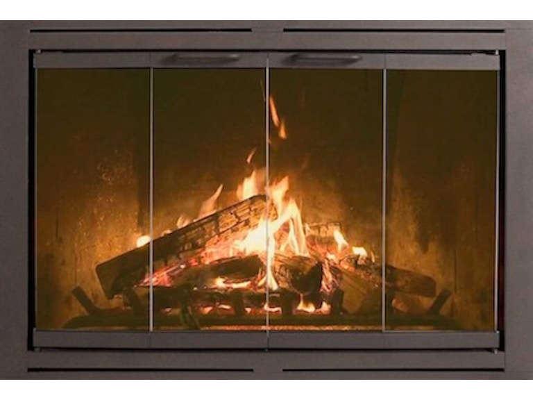 FH Casual - Z-Heritage Pre-Fabricated Fireplace Doors ... on Fireplace Casual Living id=55154