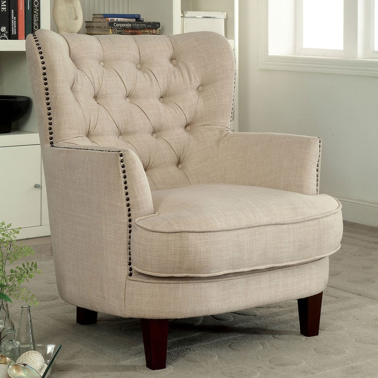 America Accent Chairs.Furniture Of America Living Room Accent Chair Cm Ac6183 Nastasi S