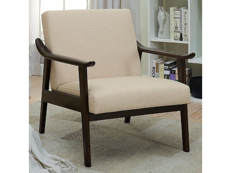 America Accent Chairs.Furniture Of America Living Room Accent Chair Beige Cm Ac6840bg