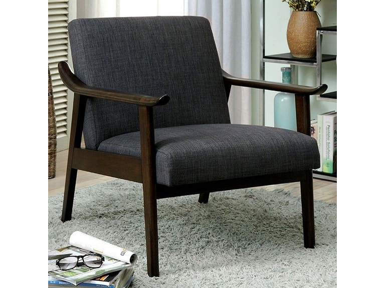 America Accent Chairs.Furniture Of America Living Room Accent Chair Gray Cm Ac6840gy