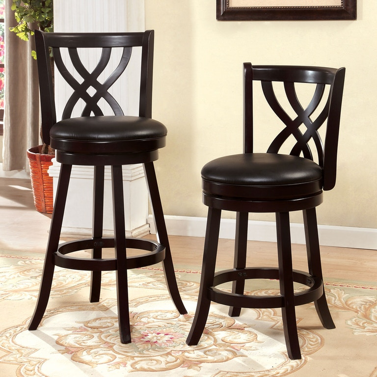 Peachy Furniture Of America Bar And Game Room 24 Swivel Bar Stool Gmtry Best Dining Table And Chair Ideas Images Gmtryco