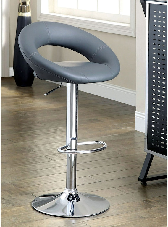 Marvelous Furniture Of America Bar And Game Room Bar Stool Gray 2 Beatyapartments Chair Design Images Beatyapartmentscom