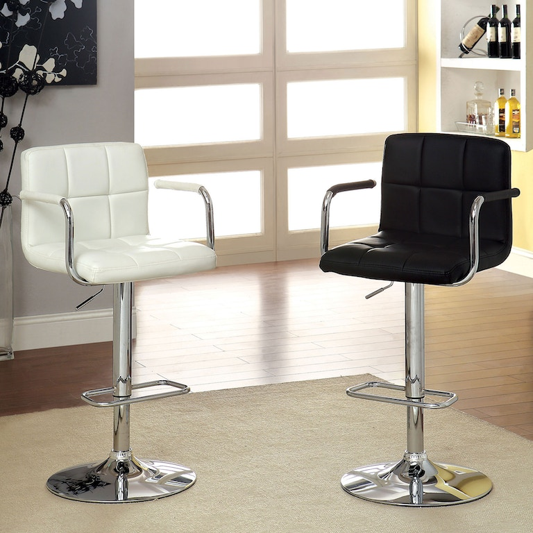 Furniture Of America Bar And Game Room Bar Stool Black Cm