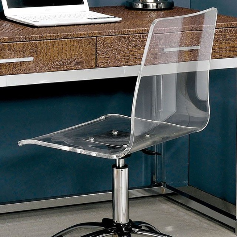 Surprising Furniture Of America Home Office Acrylic Office Chair Cm Alphanode Cool Chair Designs And Ideas Alphanodeonline
