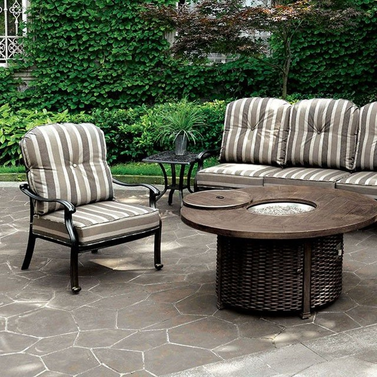 Furniture of America Outdoor/Patio Chair (2/CTN) CM-OS2124 ...