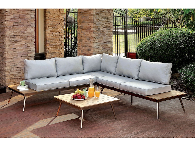 Furniture Of America Outdoor Patio Table Cm Os2582 T At Kensington And Mattress
