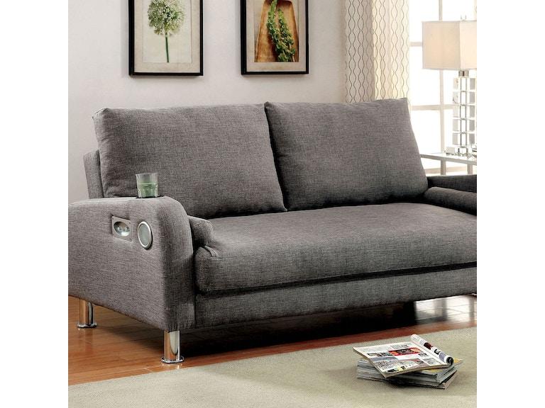 Furniture Of America Futon Sofa Cm2195 Pk