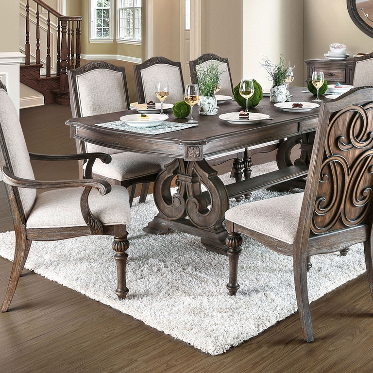 b240850d6fdd78 Furniture of America Dining Room Dining Table CM3150T-TABLE - Simply ...