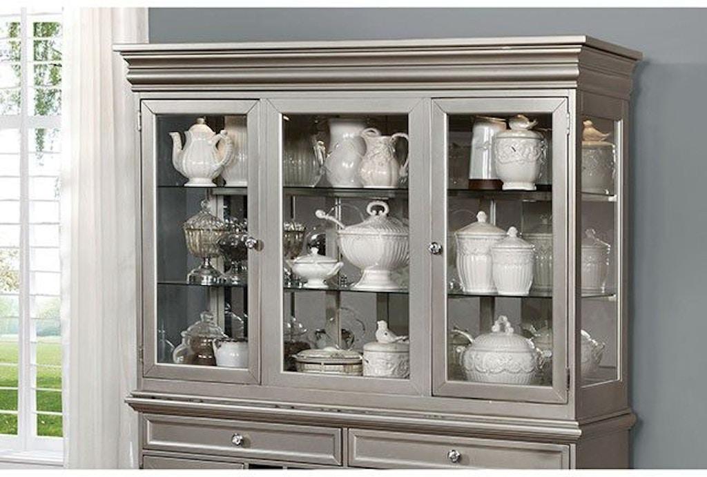 Furniture of America Dining Room Hutch & Buffet CM3219HB-SET ...