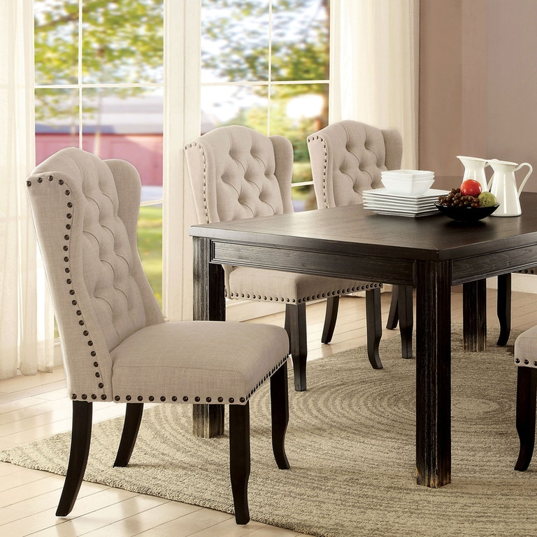Wondrous Furniture Of America Dining Room 3 Seater Love Seat Bench Gmtry Best Dining Table And Chair Ideas Images Gmtryco