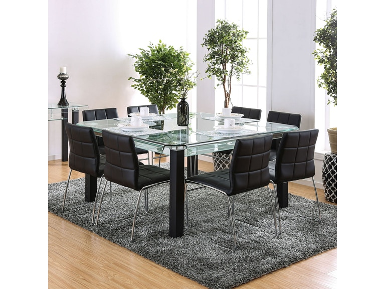 Furniture Of America Dining Room Table Cm3363t At Simply