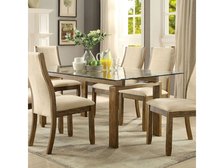 3774ad9155c140 Furniture of America Dining Room Dining Table CM3461T-TABLE at Simply  Discount Furniture