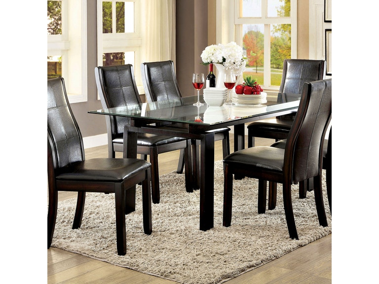 33c9aa6fe1d52b Furniture of America Dining Room Dining Table CM3462T-TABLE at Simply  Discount Furniture