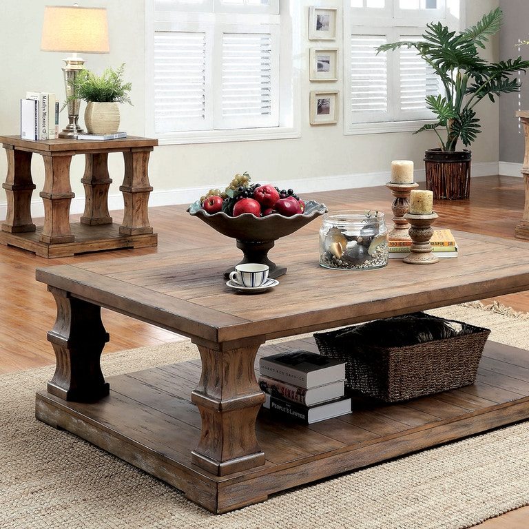 Awesome Furniture Of America Living Room Coffee Table W Wooden Top Frankydiablos Diy Chair Ideas Frankydiabloscom