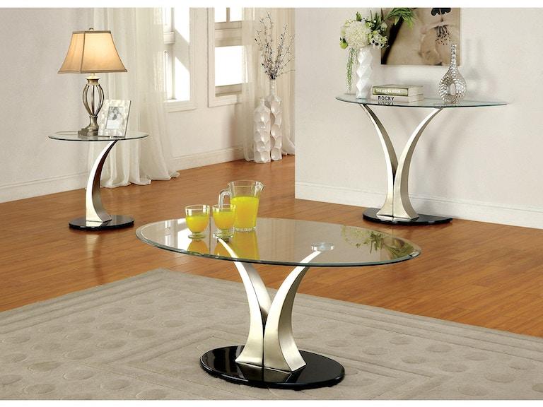 Furniture Of America End Table Cm4727e