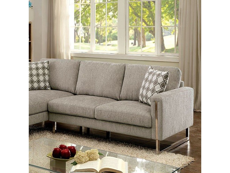 Pleasant Furniture Of America Living Room Cm6857 Sectional Annas Pdpeps Interior Chair Design Pdpepsorg