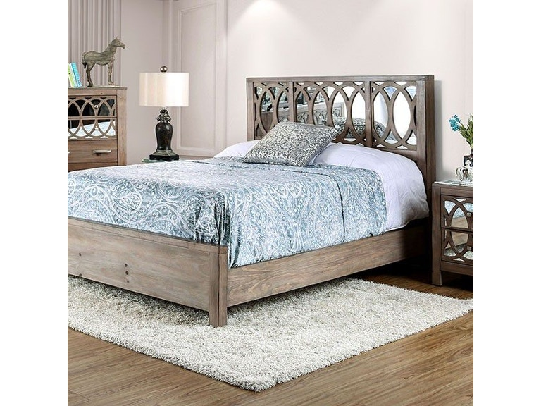 Furniture of America Bedroom E.King Bed CM7585EK-BED - Nastasi\'s ...
