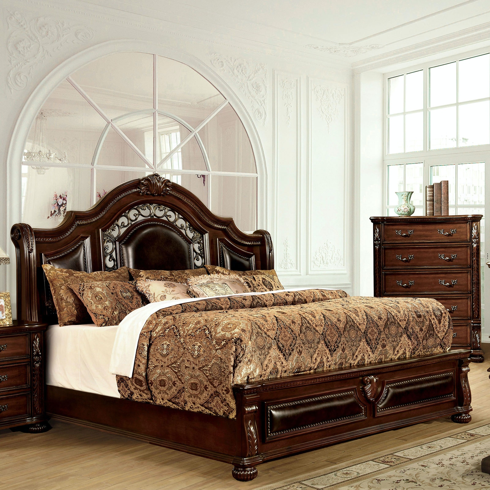 Furniture Of America Cal.King Bed CM7588CK BED
