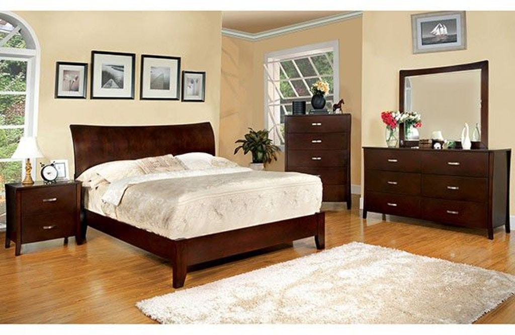 Furniture of America Bedroom Cal.King Bed CM7600CK-BED - Nastasi\'s ...