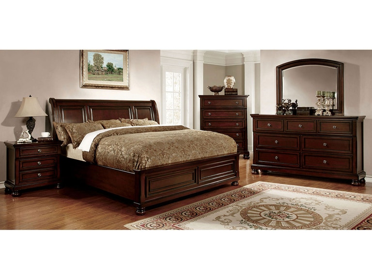 Furniture of America Bedroom E.King Bed CM7682EK-BED - Anna\'s Home ...