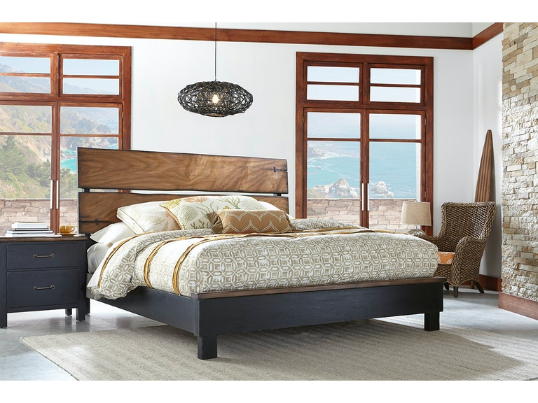 Panama Jack Home Bedroom Big Sur Queen Panel Bed Complete C - Panama jack bedroom furniture