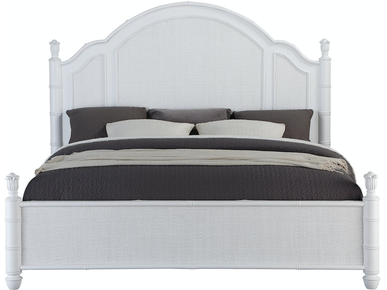 Panama Jack Home Bedroom Isle of Palms Panel Queen Bed Complete 5 ...
