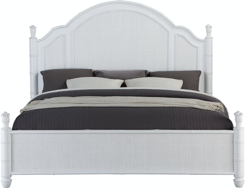Panama Jack Home Bedroom Isle of Palms Panel Queen Bed ...