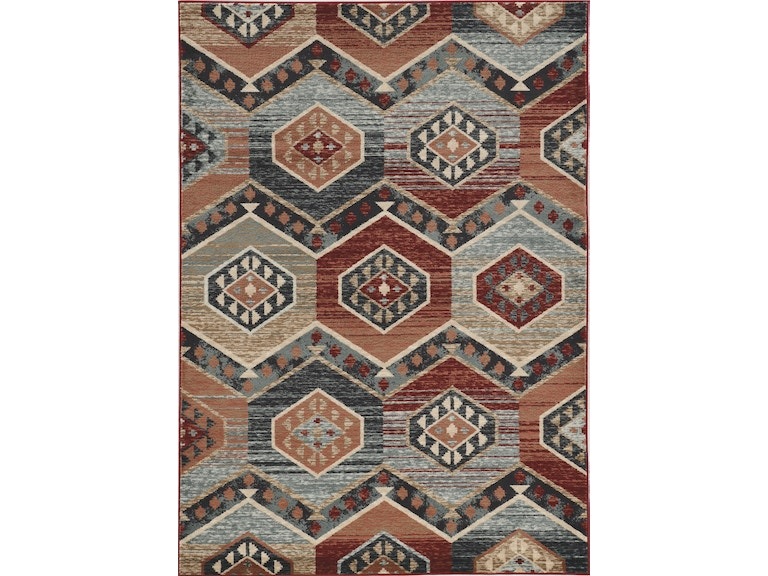 Kas Floor Coverings Chester 5630 Red Artisan Chs5630710x910 Wenz