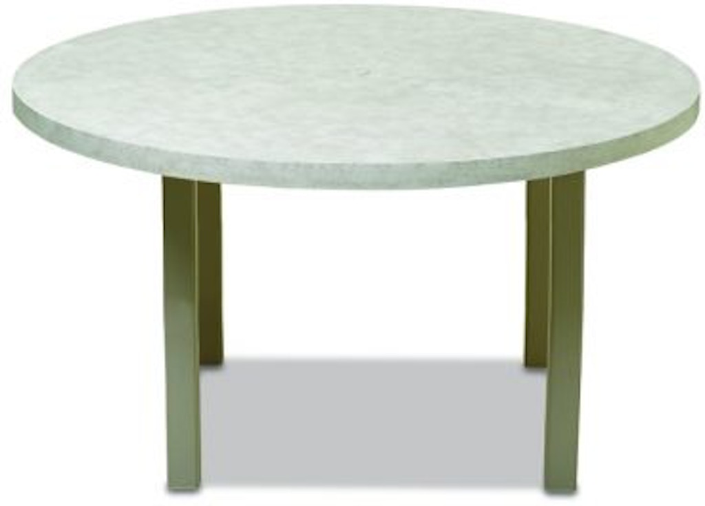 60 Round Elements Table With Hole By Telescope